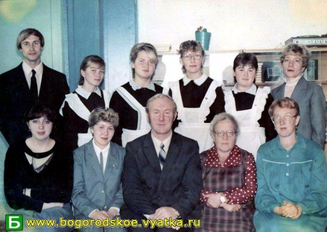 Выпускники Ошланской средней школы 1988 года.