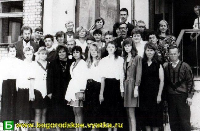 Выпускники Таранковской средней школы 1996 года.
