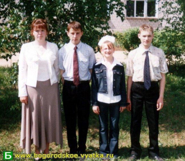 Выпускники Таранковской средней школы 2005 года.