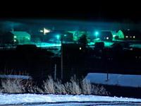 Фотогалерея. Так выглядит наш поселок зимней ночью