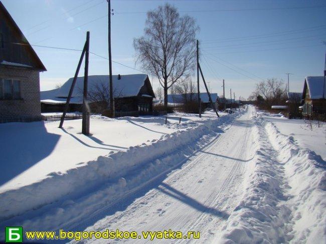 Безмолвное мартовское утро в селе ЛОБАНЬ