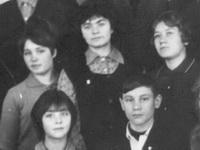 Одноклассники. Ошланская средняя школа 1970 год выпуска