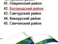 Богородский район занял 42-е место