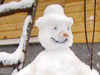Снегопад у нас сегодня!