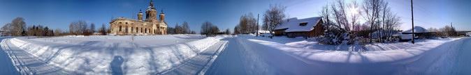 Новые панорамы села Ухтым. (из архива сайта)