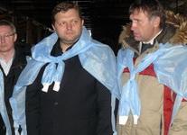 """Визит Н.Белых в Богородский район """"ЗАРЯ"""" от 10 февраля 2011 года"""