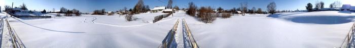 Зимний полдень в Богородске