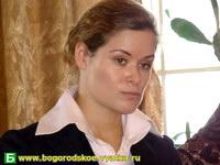 Рабочий визит Марии Гайдар в Богородское. (из архива)