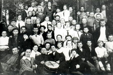 Из истории пионерской организации