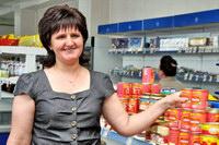 """""""Лучший продавец продовольственных товаров -2011"""""""