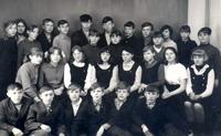 Выпускники Богородской средней школы 1971 года.
