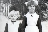 1 сентября 1977 года В Ухтымской средней школе
