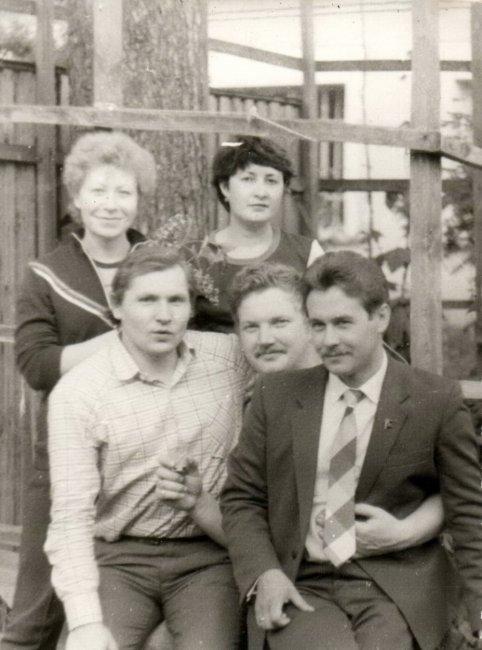 К 70-летнему юбилею Богородской ЦРБ (черно-белое фото)