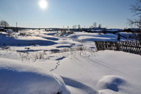 Зимняя прогулка по поселку
