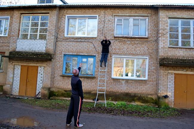 Еще один шаг сделала администрация поселка для улучшения условий проживания своих жителей