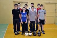 В Богородской школе соревновались силовики - гиревики!