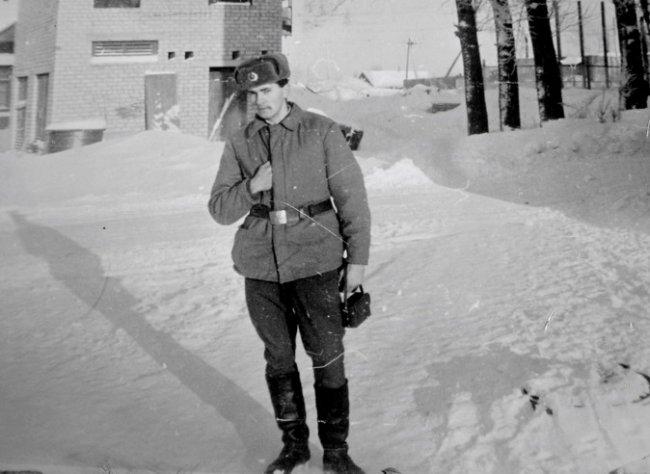 Советской Армии в п. Богородское - посвящается.