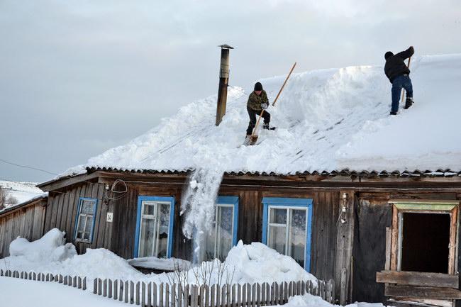 Осторожно, сход снега!