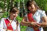 Выпускники Ошланской средней школы 2011 года.