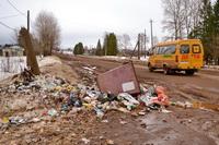 На улице Октябрьская нет контейнеров, но нам их и не надо!