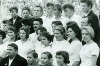 Выпускники Ухтымской школы 1964 года