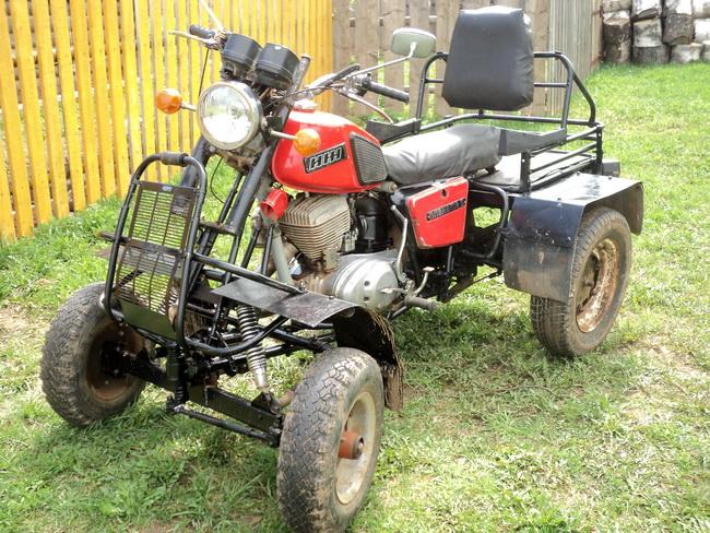 В деревне Чирки появился «квадроцикл» собственного производства