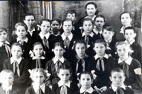 Верховойская школа в черно-белых снимках 1960-е годы