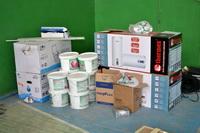 В спортзале при Богородском РЦКД начались ремонтные работы.