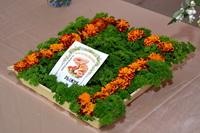 Для «Богородского рыжика» в зале РЦКД оформлена выставка цветов