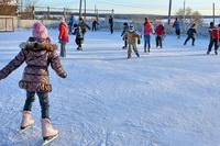 На катке залили лёд!