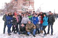 Курсанты ВСК «Патриот» в Москве и на Губернаторской ёлке