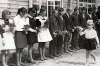 Выпускники Ухтымской средней школы 1970 года.