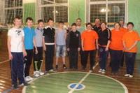 """Два раза в неделю по вечерам спортивный зал Ухтымской школы """"оживает""""!"""