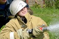 В Богородской средней школе прошла традиционная пожарная эстафета