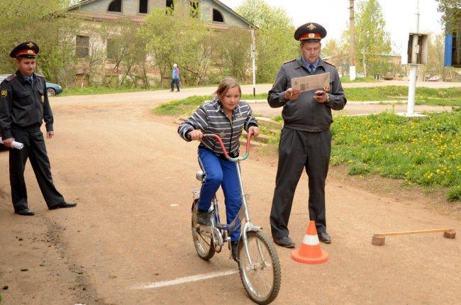 Новенький велосипед «уехал» в Ошлань.