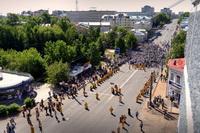 Великорецкий крестный ход с высоток от Ивана Балабанова