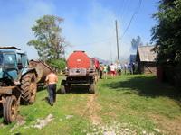 Слаженность действии и исправность гидрантов помогла справиться с огнем