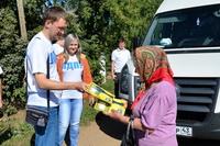 Поселок Богородское посетил десант от ЛДПР.