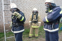 На базе 27-й пожарной части создана газодымозащитная служба