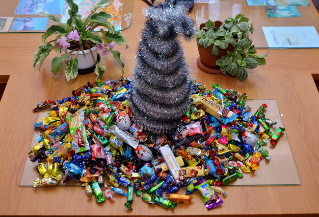 Пуд конфет собрали богородчане для детей из малообеспеченных семей