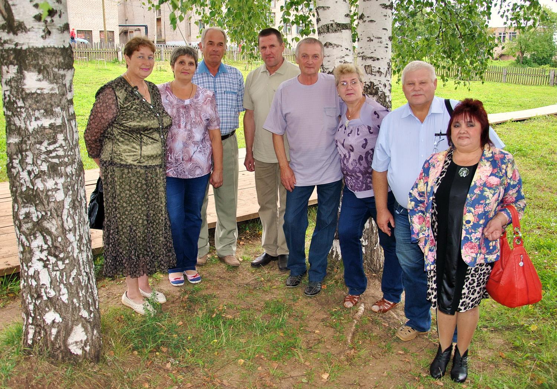 Одноклассники 40 лет сценарий