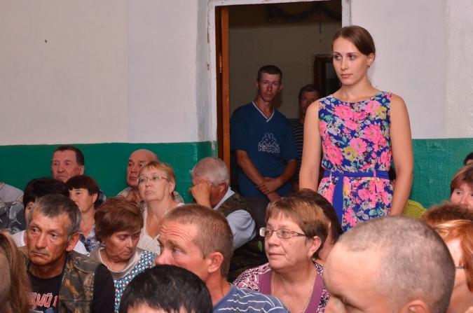 В с. Ошлань прошла встреча жителей в кандидатами в депутаты ОЗС и РайДуму